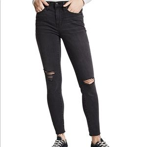 Madewell Ripped Skinny Jeans